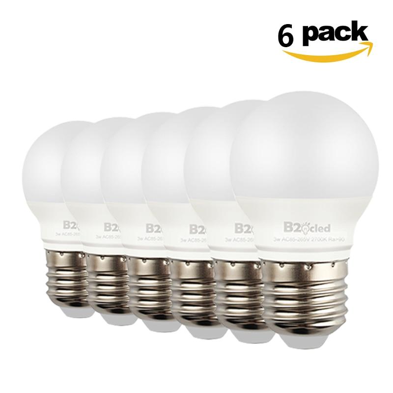 6pcs high quality Led Bulb lamp CRI 90 E27 3W 5W AC 110V 220V 85-265V light ball Cold White / Warm Lampada Bombillas desk lamp
