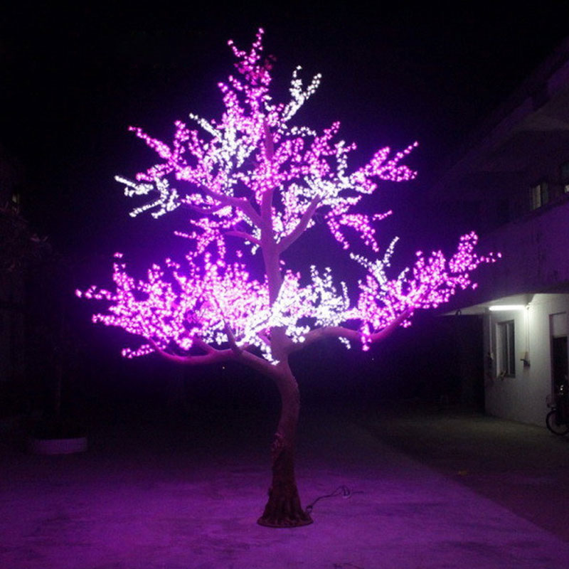 Outdoor Christmas Tree With Lights.4 5meter 6144leds Christmas Trees Artificial With Outdoor Christmas