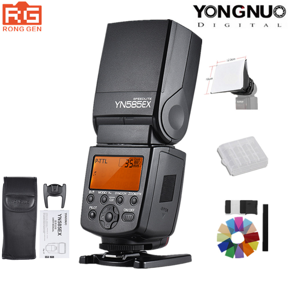 цена на YONGNUO YN585EX P-TTL HSS 1/12000 s 2.4G Wireless Flash Speedlite for Pentax K-K-S1 K-S2 K-K-3II K5 K50 KS2 K100 K-K-DSLR Camera