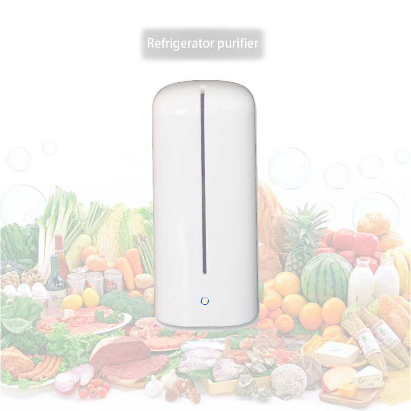 Rechargeable Refrigerator Deodorizer  Air Purifier  Ozone Generator Deodorizer Sterilizing Special Flavour Preservative Box atongm kt 6830 sterilizing deodorizer air purifier rose gold