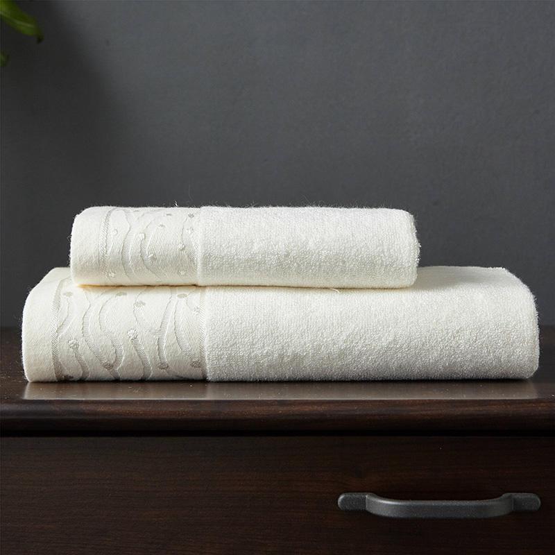 J pinno Da Bagno Tovagliolo di Mano 2 pz in fibra di Bambù Onda punto di Set di Asciugamani Super Soft di Alta Assorbente Antibatterico Adulto Medicina tovagliolo di lavaggio