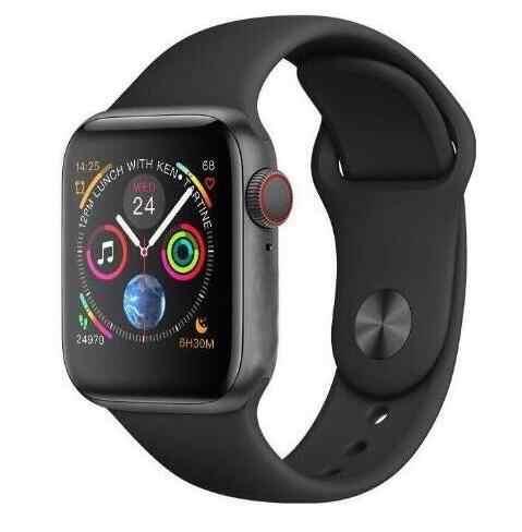 Smartwatch bluetooth IWO 8 MTK2502C красный круглая кнопка 44 мм серии 4 reloj Депортиво hombre для iphone 6 7 X android