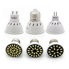 E27 MR16 GU10 Светодиодный точечный светильник 220V GU5.3 светодиодный светильник 4 Вт 6 Вт 8 Вт 5733 SMD Bombillas светодиодный Lamparas лампы для крытый светильник Инж