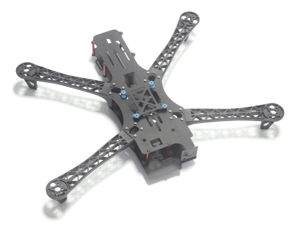 Neue REPTIL MWC X-MODE X500 500mm 500 Vollcarbon Alien Multicopter Quadcopter Rahmen BlackSheep