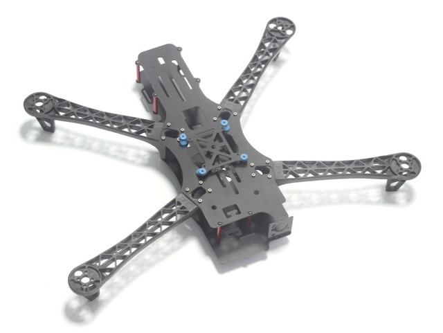 New REPTILE MWC X-Mode X500 500mm 500 Full Carbon Fiber Alien Multicopter Quadcopter Frame BlackSheep