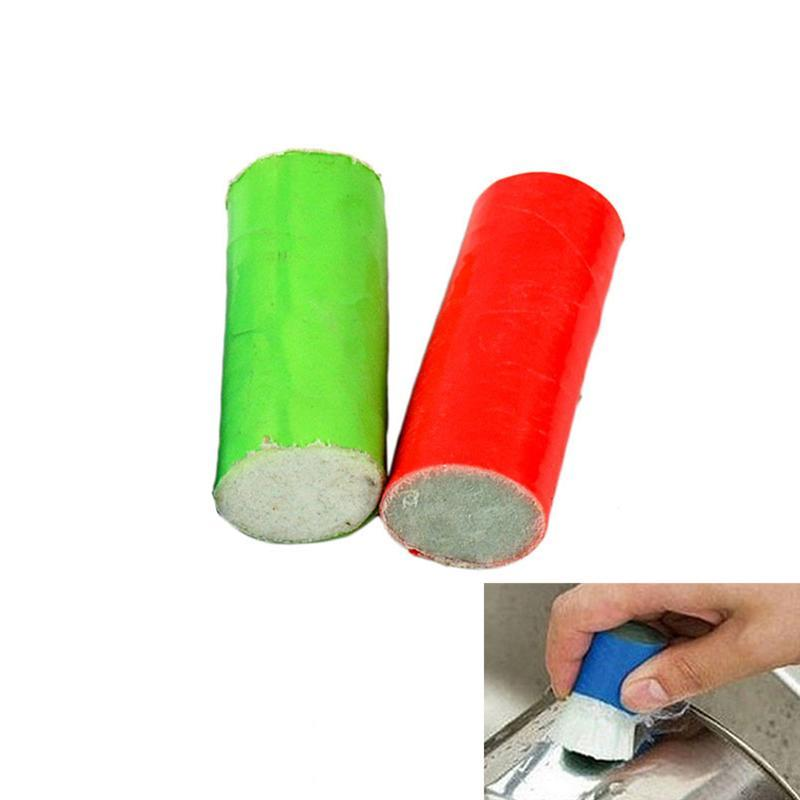 2pcs Rust Remover Stick Metal Polisher Kitchen Brush Wash Cleaning Tool Magic Cleaning B ...