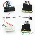 Специальный Кабель LVDS IPEX 40 Pins Шаг 0.5 мм для 10.1-15.6 дюймов 1 ч 6-разрядный S6 LED ЖК-Панель Я-PEX 20455-040E-12 Freeshipping