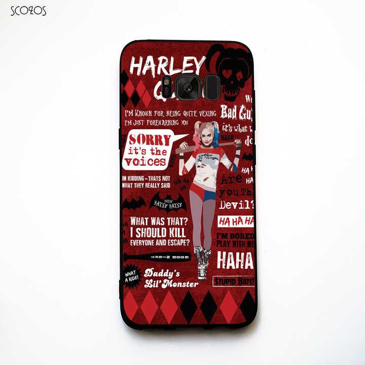 """SCOZOS со ссылкой на очень неприятных """" Харли Квинн &quotчехол для телефона Samsung Galaxy"""