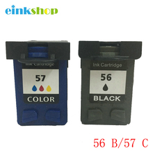 1X For HP 56 Black + 57 Colour Ink Photosmart 7350 7450 7459Printer