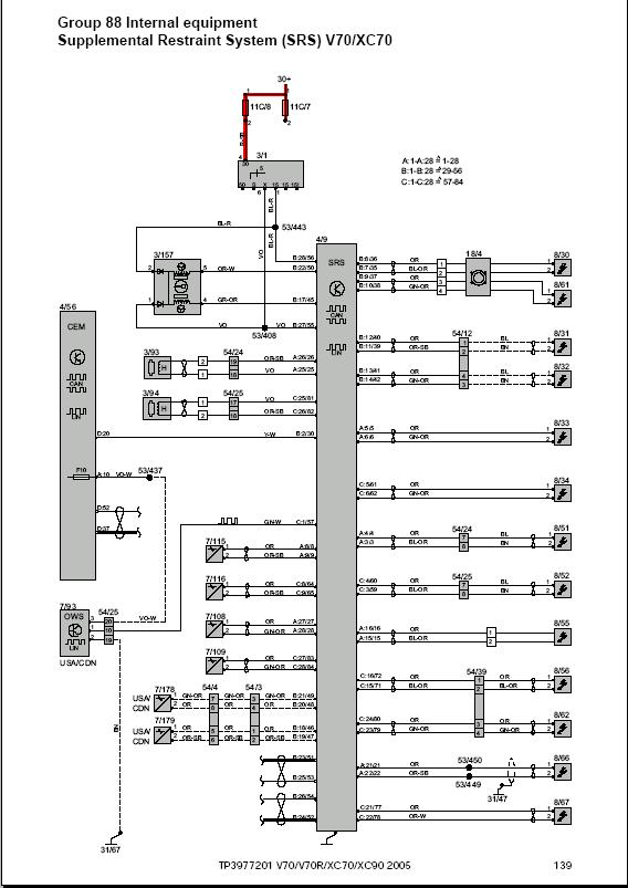 Wiring Diagrams 2004 2014 For volvo volvo v50 brake light wiring diagram volvo wiring diagram and Volvo 850 Engine Diagram at fashall.co