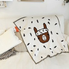 INS Baby blankets thicken double layer Knit Baby stroller cover blanket newborns boys girls bedding blanket