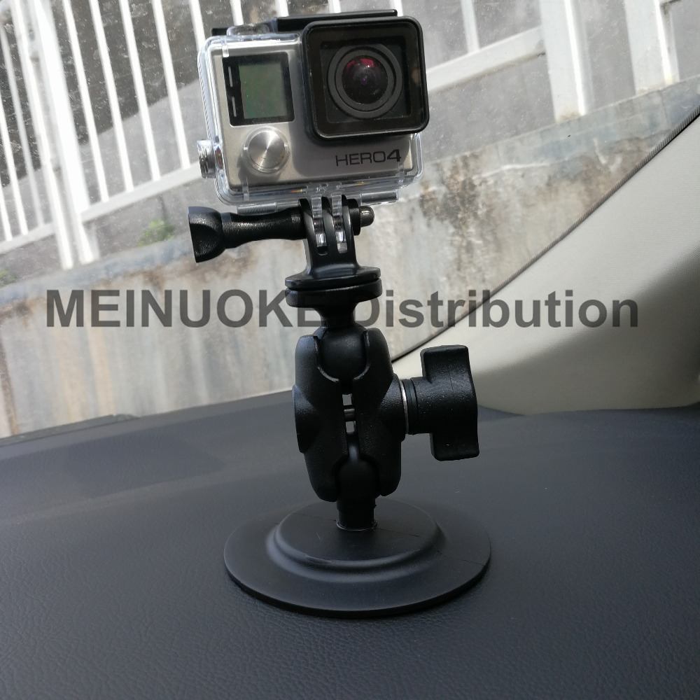 In <font><b>Car</b></font> Dashboard Mount for Sony Action Cam Gopro Camera and <font><b>Cell</b></font> <font><b>Phone</b></font> &#038; Smartphone