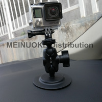 Car Dashboard Mount 3m Adhesive Stick Sucker 1 Inch Ball Head Joint Tripod For Sony Cam