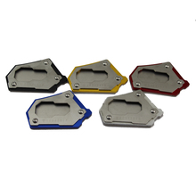 цены KODASKIN Motorcycle CNC Aluminum Kickstand Foot Side Stand Extension Pad Support Plate for R1200GS ADV Adventure