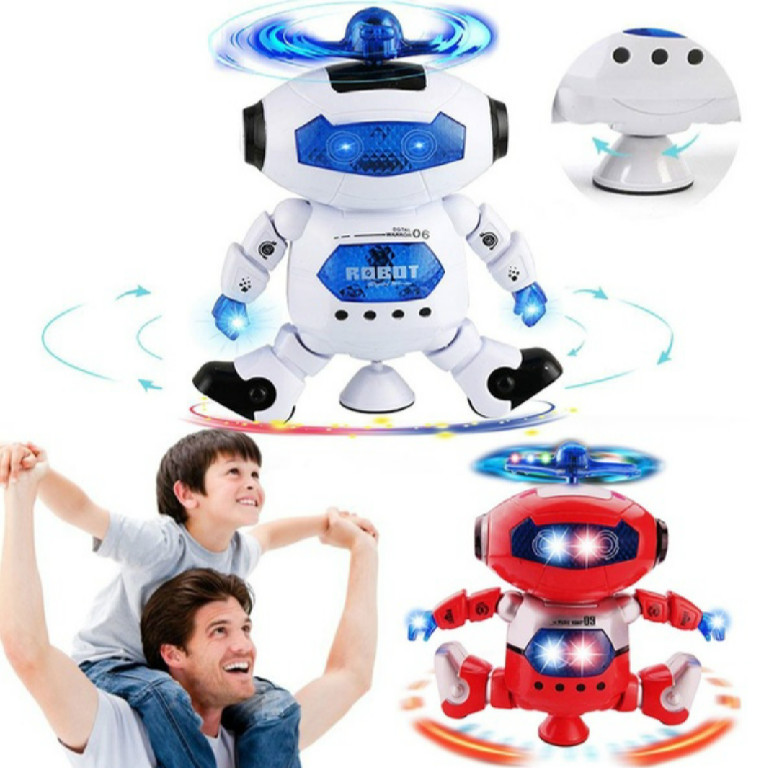 Nice Gifts For Children Boys  Electronic Walking Dancing Smart Space Robot Astronaut Kids Music Light Toys