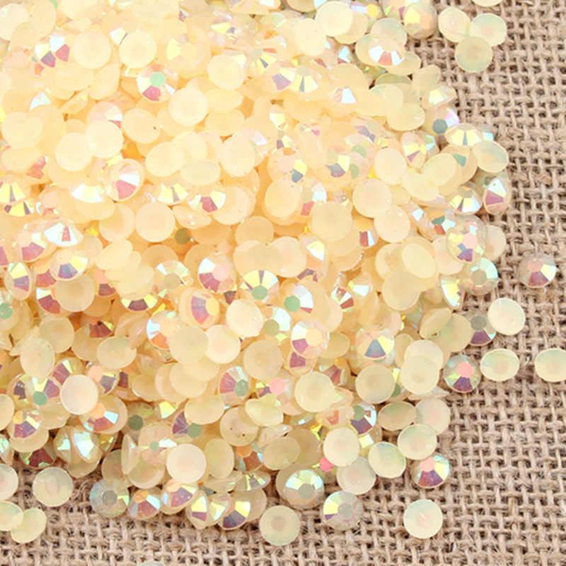 20 г драгоценные камни 4 мм/6 мм Алмазная плоская задняя часть кристалла с акриловым драгоценным камнем Блестки для нейл Арта (искусство украшения ногтей) одежда Скрапбукинг shakes stone
