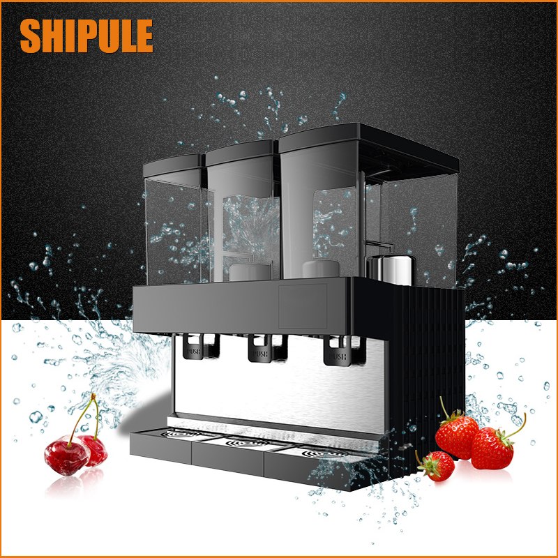 Free shipping supply the 3 tanks of commercial slush Machine / Snow melting machine Cold Drink Dispenser