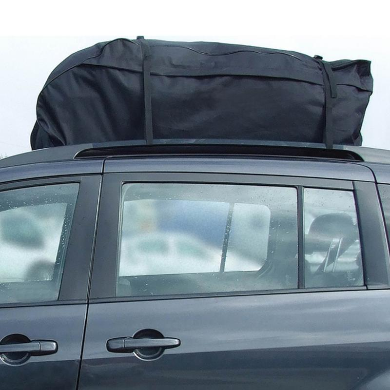 Roof Top Bag Rack Cargo Carrier Luggage Storage Travel Waterproof Touring SUV Van For Cars Car Styling kemimoto 15 cubic feet rooftop cargo carrier waterproof roof top cargo luggage travel bag for car truck suv vans with roof rails