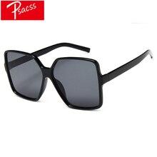 Psacss New Square Sunglasses Women Men Oversized Fashion Brand Designer Vintage Sun Glasses For Male Driving Mirror gafas de sol