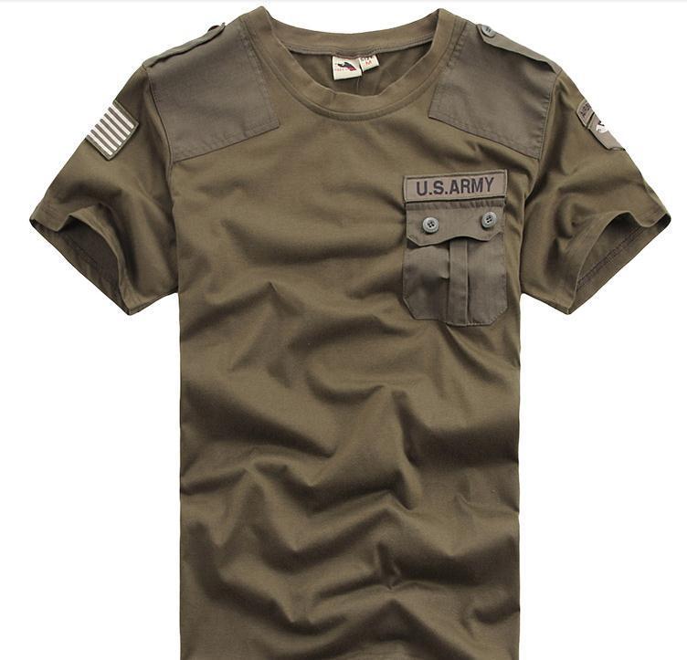 Мужская хлопковая камуфляжная футболка с круглым вырезом, в помещении, в стиле милитари, пустыня, армия, воздушно десантный спецназ, 2020