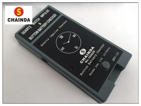 Relógio de Quartzo Verificação da Bateria Frete Grátis Botão Impulso Bobina ic Tester Analyzer Ferramenta Reparo 1pc