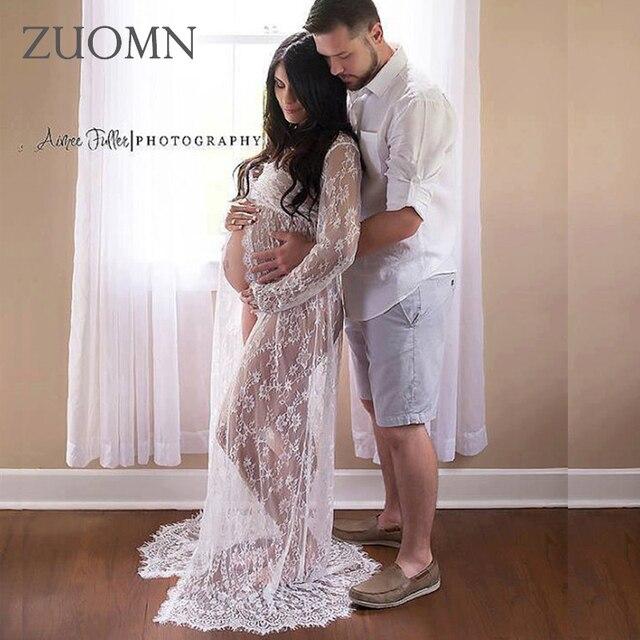 precio competitivo 02433 70c35 Vestidos de maternidad para sesión fotográfica accesorios fotografía  vestido Infantil ropa embarazada mujer moda GH398