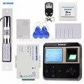 DIYSECUR считыватель отпечатков пальцев 125 кГц ID карт электрическая система контроля допуска к двери + дверной Звонок