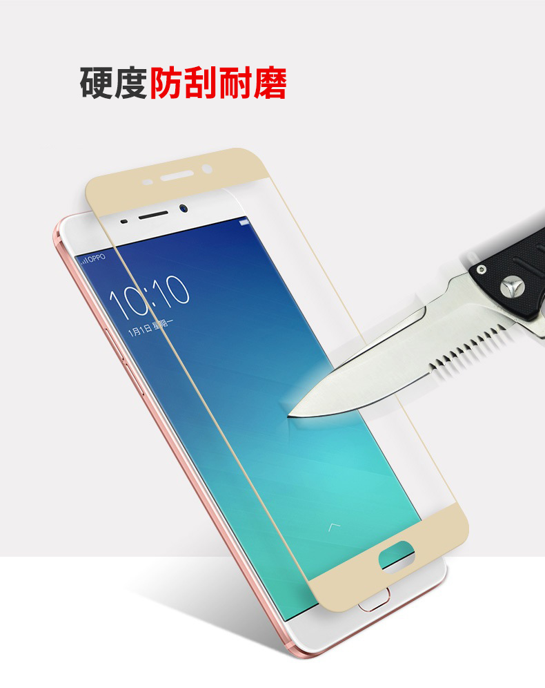 2 Pcs Full Tempered Glass Screen Protector For Oppo F1s F1 Plus Cover R7 R7s R9 R9s F5 Youth A73 A73t In Phone Protectors From
