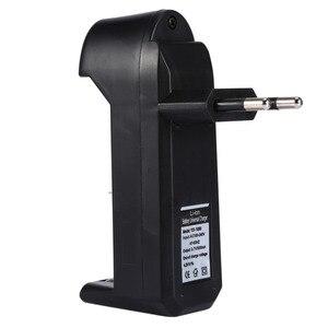 Image 1 - EU Caricabatterie Universale Per 3.7V 18650 26650 16340 14500 Li Ion Ricaricabile Batteria Singolo slot caricatore automatico