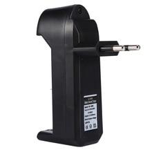 цена на EU Universal Charger For 3.7V 18650 26650 16340 14500 Li-ion Rechargeable Battery Single slot automatic charger