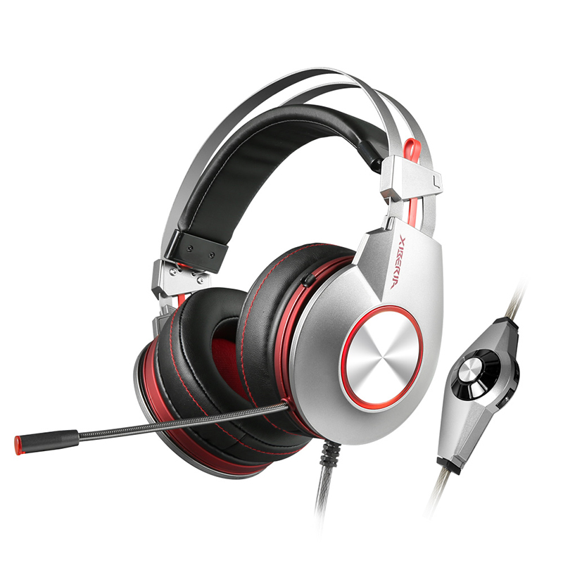 Gaming Headset  XIBERIA K5 Over Earphone for PC Gamer Stereo Surround Sound with Microphone for Computer xiberia k5 usb gaming headphones computer stereo over ear game headset with surround sound flexible microphone mic for pc gamer