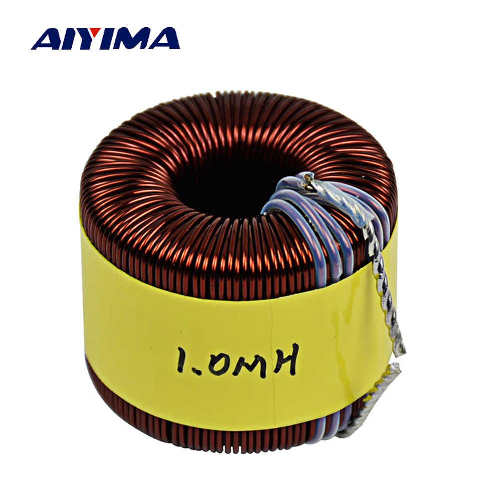 Aiyima 5 кВт Sendust магнитное кольцо синусоида индуктивность инверторный фильтр индуктор PFC индукционная катушка