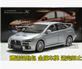 Mitsubishi Lancer EVO 10th generation 1:18 Original simulation car model alloy high quality Japan sports car collection gift