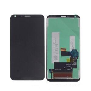 Image 4 - 5.5 originale Per LG Q6 LG M700 M700 M700A US700 M700H M703 M700Y Display LCD + Touch Screen Digitizer kit di Parti Del Telefono con Cornice