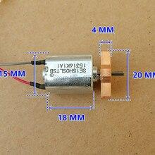 3pcs High Precision DC6V-12V Square Micro vibration motor 15x15mm High torque