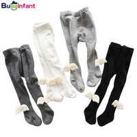 Crianças meia-calça menina do bebê meias infantis meninas meias asas de anjo bebês algodão quente apertado da criança meninos recém-nascidos meia branco