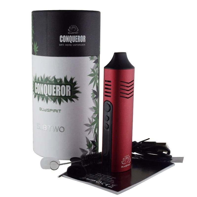 Conquering Pathfinder Dry Herb Vaporizer II V2 Herbal Wax Kit Electronic Cigarette 2200mAh With OLED Display Vape Pen Mod Vapor