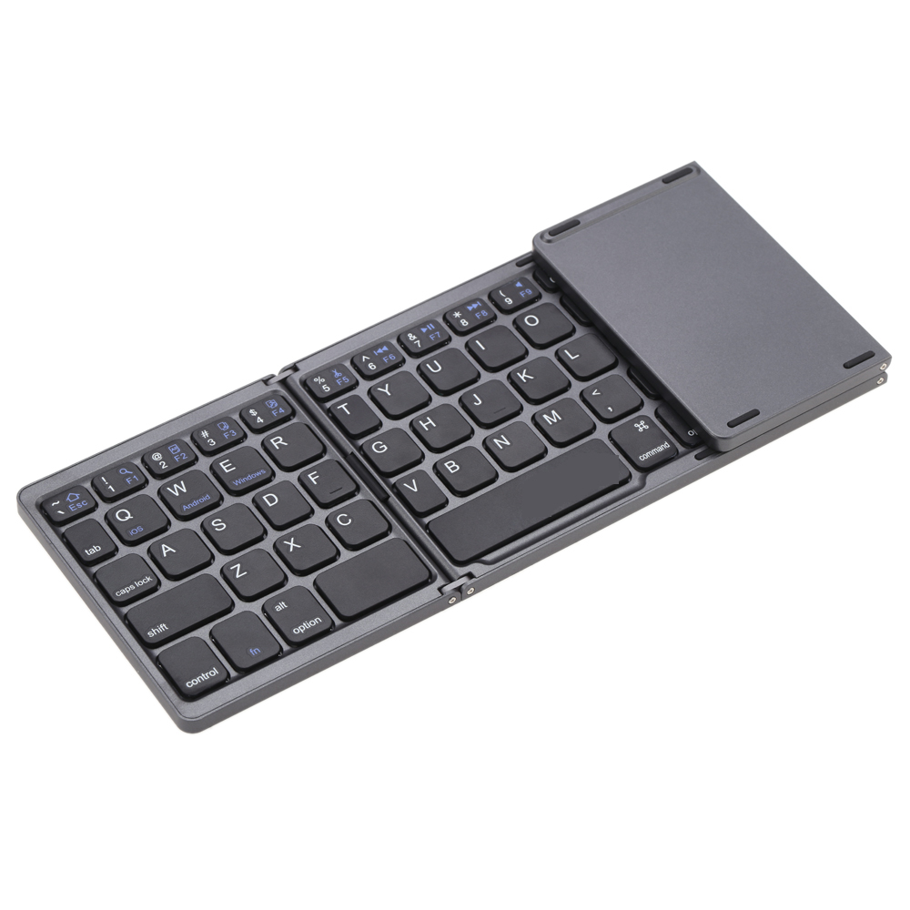 bluetooth keyboard for iphone portable mini foldable folding bluetooth wireless keyboard 2868