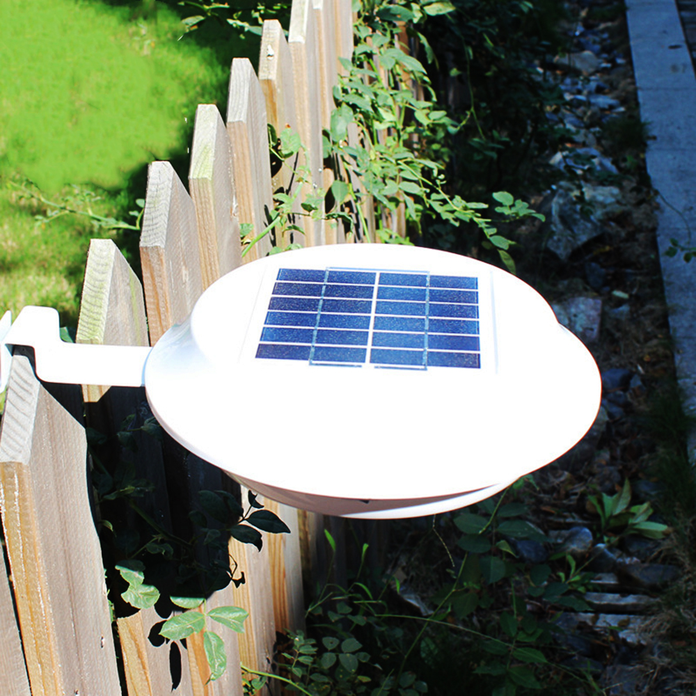 1X 12leds Solar Powered Panel Wall Fence Lamps Outdoor Garden Lights Step Walkway Path Porch Lampada Solar Led Light Waterproof