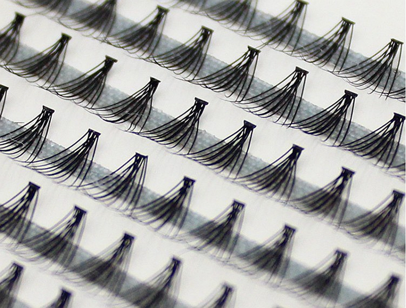 58cfafcb4a5 Detail Feedback Questions about 1boxes Big capacity Volume 10D Eyelash  Extensions 0.07mm Thickness Hair Mink Strip Eyelashes Individual Lashes  Natural Style ...