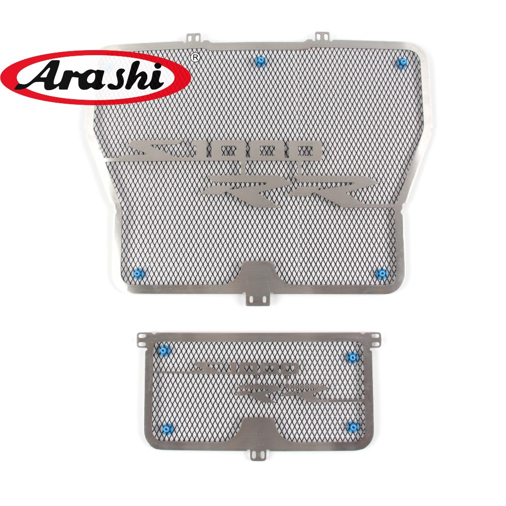 Arashi S1000RR Radiator Protective Cover Guard Grille Protector For BMW S1000 RR 2009 2010 2011 2012 2013 2014 2015 2016 2017 car rear trunk security shield shade cargo cover for nissan qashqai 2008 2009 2010 2011 2012 2013 black beige