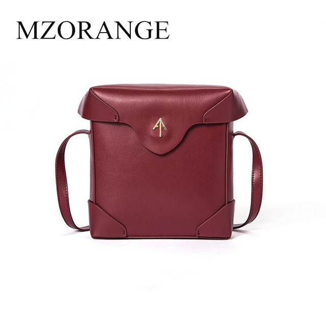 02c980469a39 2018 genuine leather Box Turkey Arrow bag Women handbag Small Cover Flap  Bag Shoulder Bags Cowhide