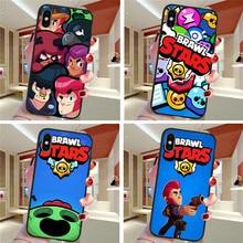 brawl stars For iPhone X XR XS Max 5 5S SE 6 6S 7 8 Plus Oneplus 5T Pro 6T phone Case Cover Funda Coque Etui funda capinha cute