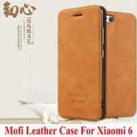 Newest Original Mofi Luxury PU Flip Leather Cover Case For Xiaomi 6 M6 Mi 6 Mi6
