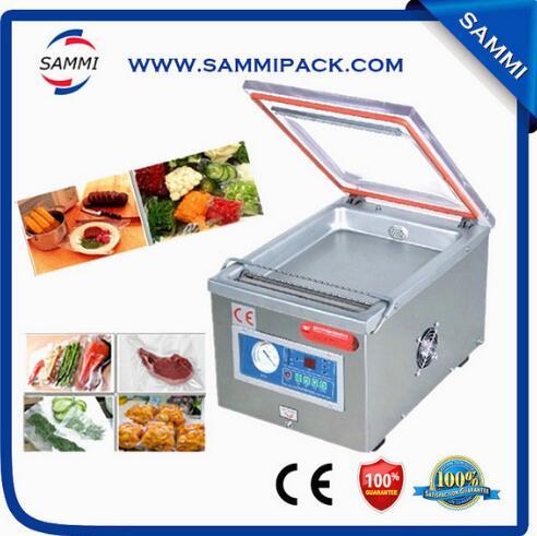 Machine de cachetage de vide de chambre à vide de Type de Table, Machine à emballer de viande