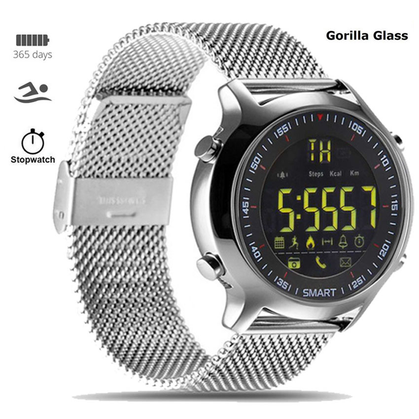 360 Metal Smart Watch IP68 Dive Stopwatch Montre Connect