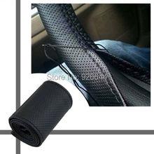 Иглами тему шить микрофибры руль искусственная обложка универсальный кожа автомобиля diy
