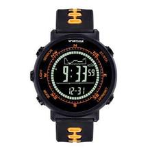 SPORTSTAR Outdoor Pioneer smart wristwatch with digital compass,altimeter,barometer,thermometer,weather forecase