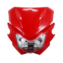 Motorcycle Universal Headlight Fairing kit for Honda CR125R XR250R Kawasaki KDX200	KX100 Yamaha TTR225 suzuki DRZ400E DR650SE