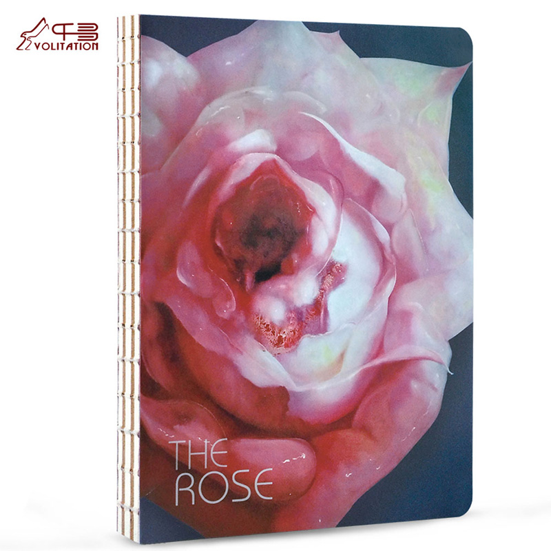 где купить  CHIHIRO Sketch NotebookFlower Original Notebook Hand-painted Illustrations Notepad Diary 1PCS  дешево